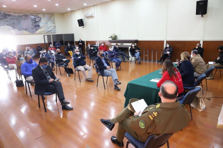 ALCALDE DE RENGO PARTICIPA EN REUNION CON AUTORIDADES REGIONALES FRENTE A PANDEMIA DEL CORONAVIRUS