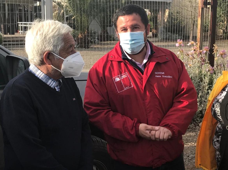 VECINOS DE RENGO, MALLOA Y QUINTA ESPERAN INSTALACION DE SEMAFORO EN CRUCE INTERCOMUNAL