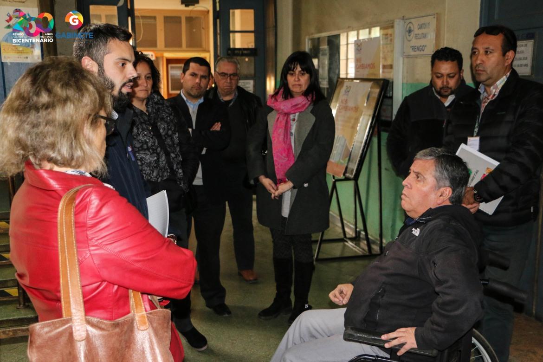 """Alcalde de Rengo, Carlos Soto Gonzalez:""""QUEREMOS QUE ESTE EDIFICIO REPRESENTE EL DESARROLLO EDUCATIVO Y SOCIAL DE LA COMUNA"""""""