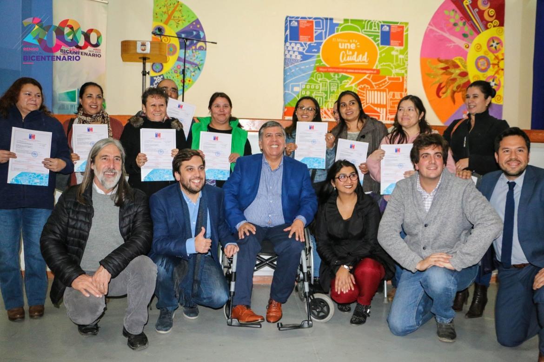 104 FAMILIAS DE LA COMUNA DE RENGO RECIBIERON SUBSIDIO DE MEJORAMIENTO DEL PATRIMONIO FAMILIAR