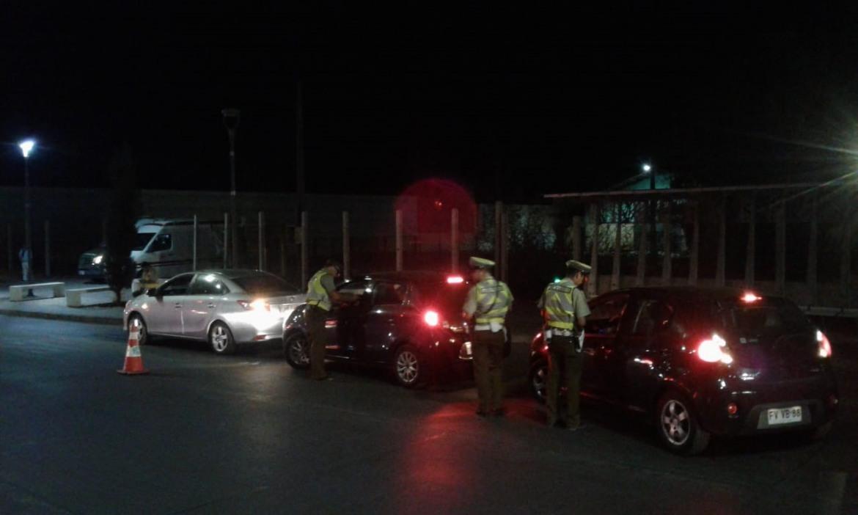 """Más de 300 vehículos fueron fiscalizados por """"Control Cero Alcohol"""" realizado por Senda y Carabineros durante la vendimia"""