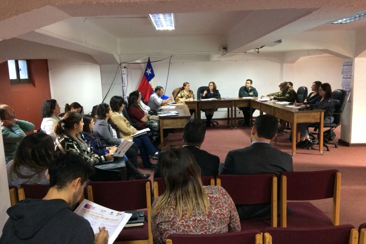 PARTICIPATIVA SEXTA SESIÓN DEL CONSEJO COMUNAL DE SEGURIDAD PÚBLICA SE DESARROLLA EN LA COMUNA.