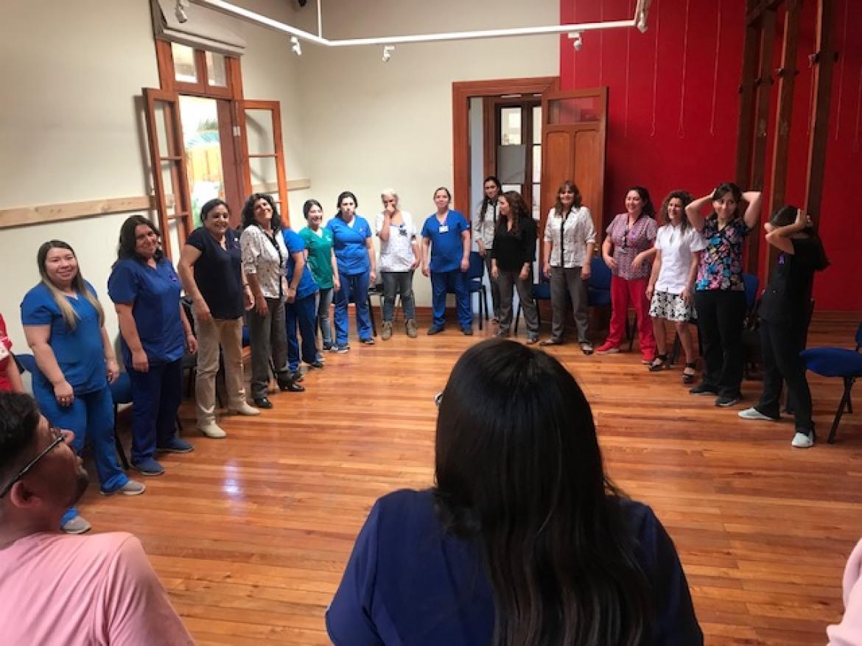 El Día de la Mujer fue celebrado en el Cesfam de Rosario con nuevo Director