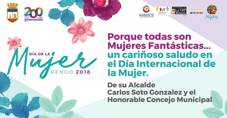 Feliz Día Internacional De La Mujer Ilustre Municipalidad De Rengo