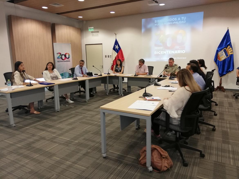 SESIÓN N°13 DEL CONSEJO COMUNAL DE SEGURIDAD PÚBLICA, TRABAJA EN PREVENCIÓN DEL CONSUMO DE ALCOHOL