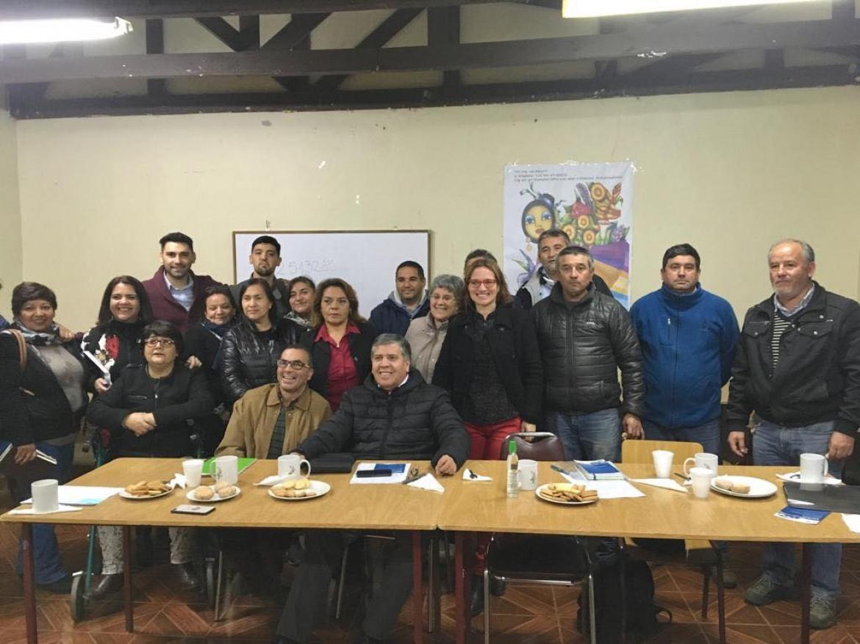 ALCALDE Y MUNICIPIO EN TERRENO REALIZARON REUNION CON JUNTAS DE VECINOS DEL SECTOR NORTE DE RENGO