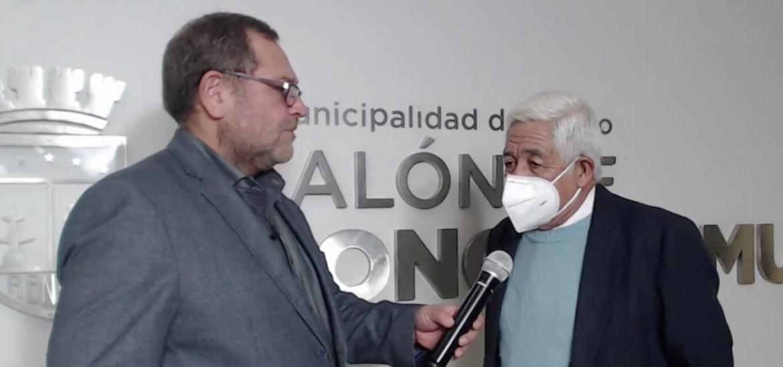 JULIO IBARRA MARIPANGUE FUE ELEGIDO POR VOTACION DE CONCEJO COMO ALCALDE SUPLENTE