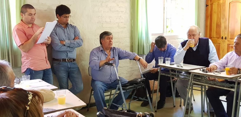 POSITIVO BALANCE EN REUNION JUNTO A CONSEJO REGIONAL Y VECINOS DE ESMERALDA Y CERRILLOS
