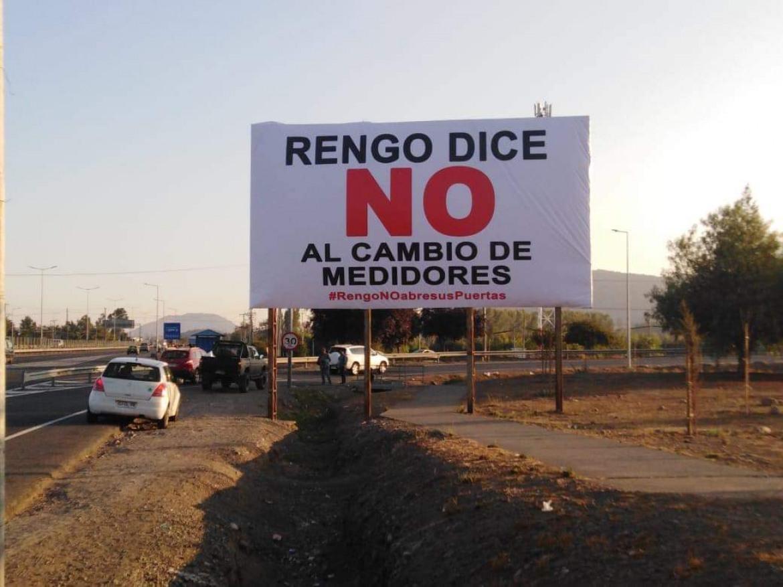 DECLARACION PÚBLICA ALCALDE DE RENGO CARLOS SOTO GONZALEZ: RENGO DICE NO AL CAMBIO DE MEDIDORES