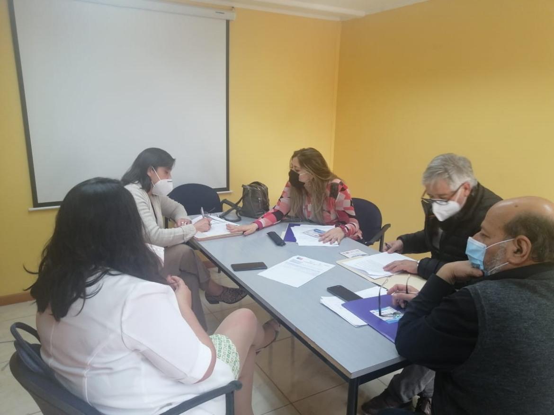 REUNION DE COORDINACION DIDECO- OPD-DAEM PARA EJERCER ESTRATEGIAS DE CUIDADO LOS ESTUDIANTES DE LA COMUNA