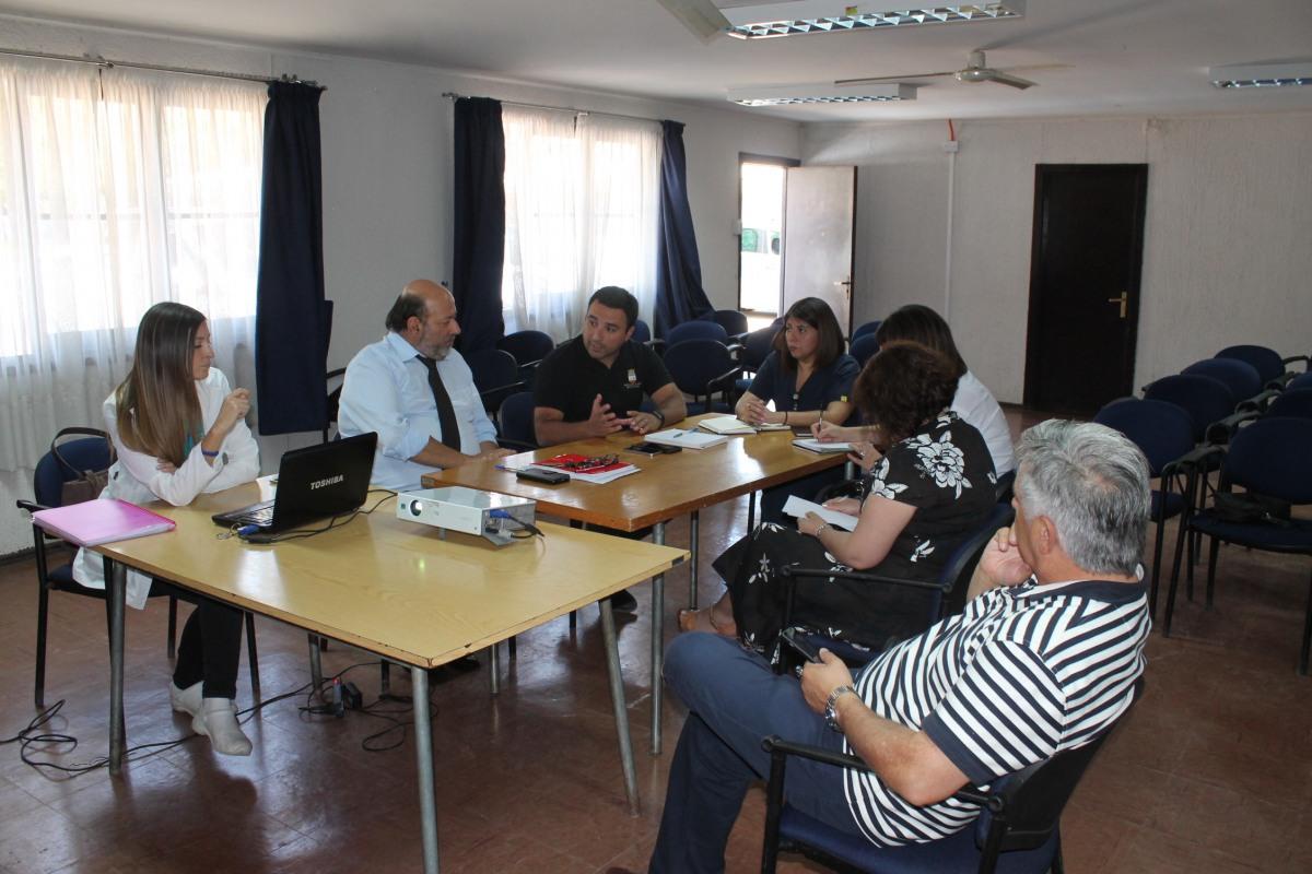 IMPORTANTE REUNION ENTRE DEPARTAMENTO DE SALUD Y EDUCACION PARA TRABAJOS EN CONJUNTO EN BENEFICIO DE LOS ESTUDIANTES