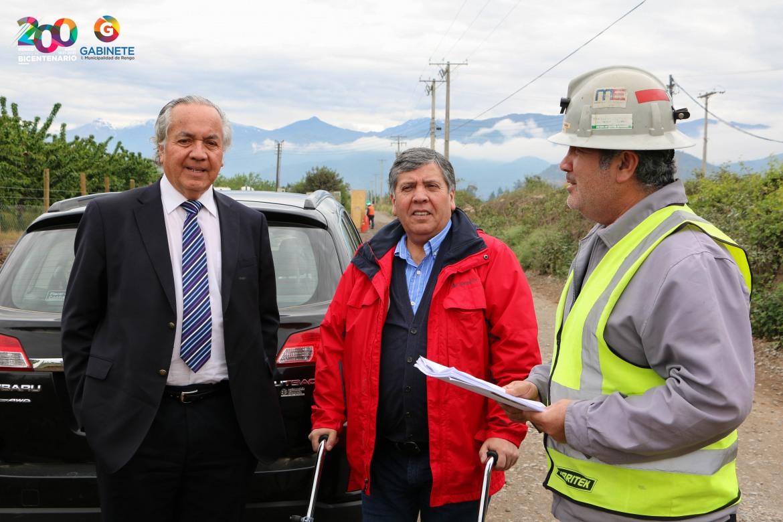 CON UNA INVERSION DE 340 MILLONES DE PESOS SE PAVIMENTA CAMINO A LAS NIEVES