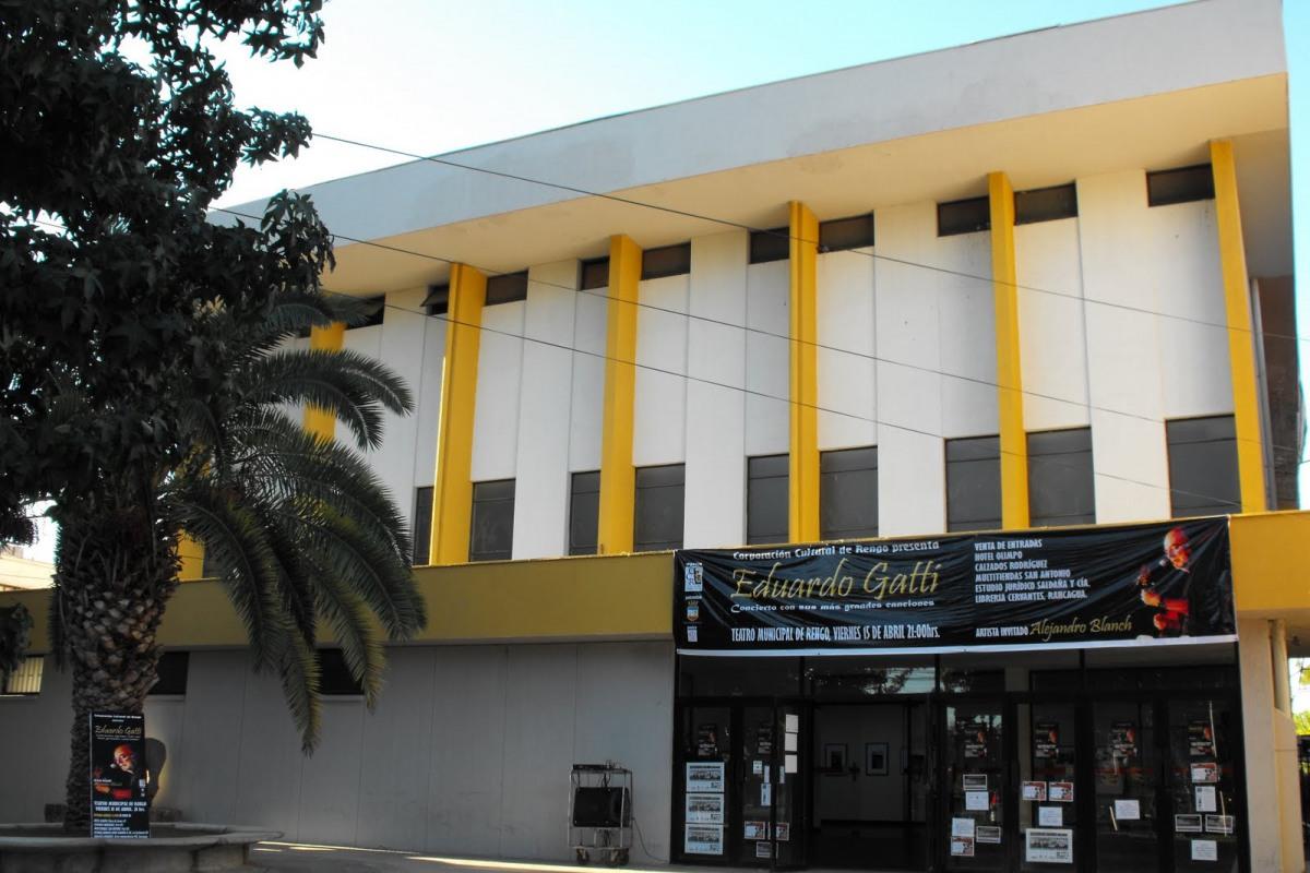 INVITACION: Jornada de participación ciudadana, etapa 3 proyecto de mejoramiento Teatro Rengo