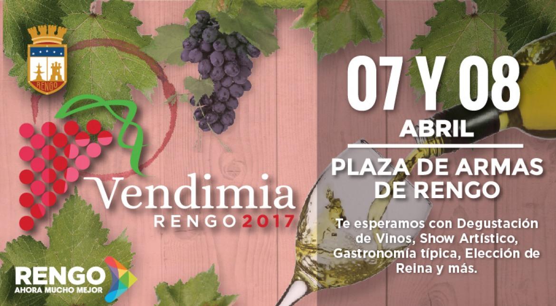 IMPERDIBLE, FIESTA DE LA VENDIMIA RENGO 2017