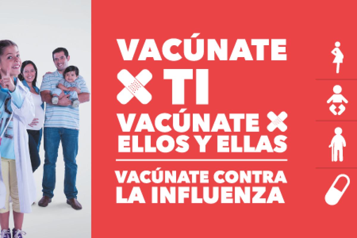 Todo lo que hay que saber sobre campaña de Vacunación contra la Influenza 2018