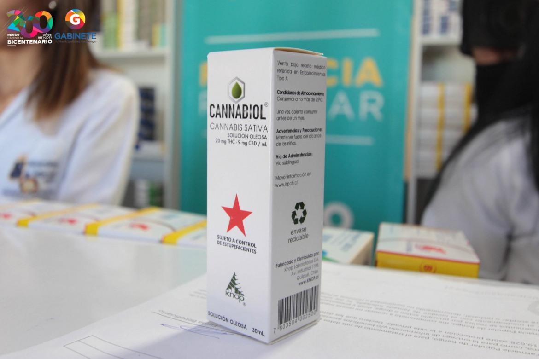 VENTA DE CANNABIOL EN FARMACIA POPULAR DE RENGO