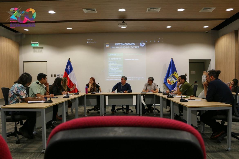 SESIÓN N°15 DEL CONSEJO COMUNAL DE SEGURIDAD PÚBLICA TRABAJA ACONTECER NACIONAL