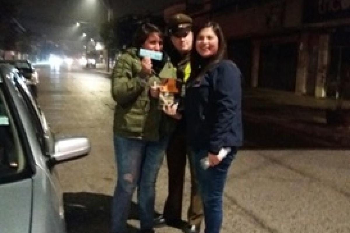 SENDA PREVIENE REALIZA CONTROL CERO ALCOHOL A CONDUCTORES DE LA COMUNA
