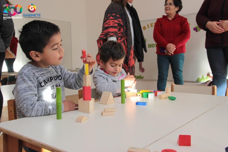 SE ABRE EL TAN ESPERADO JARDÍN INFANTIL EN VILLA SAN FRANCISCO DE RENGO