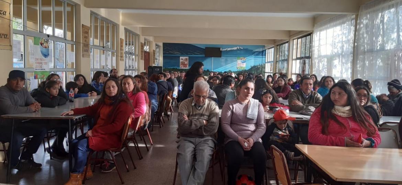 SEGURIDAD PÚBLICA EFECTÚA EXITOSA CHARLA A VECINOS DE PROYECTO HABITACIONAL DON VICENTE DE ROSARIO