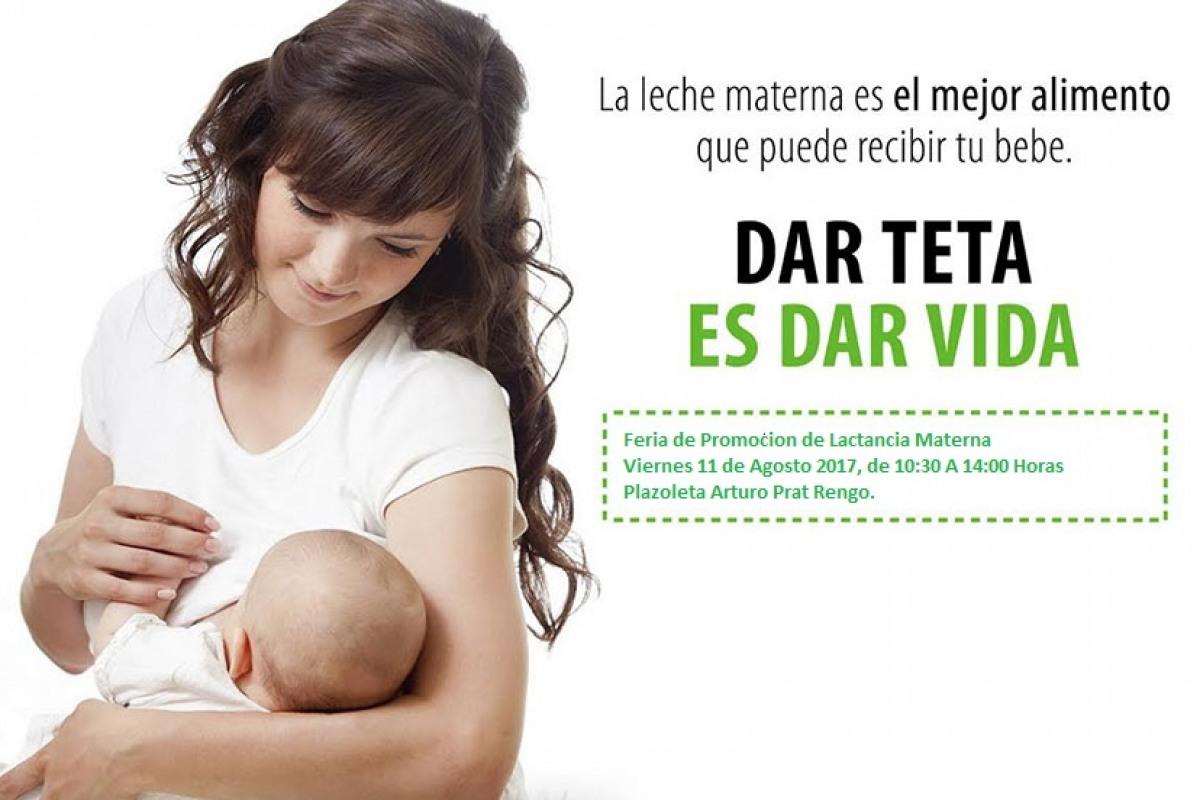 Invitación a la comunidad: CESFAM RIENZI VALENCIA DE RENGO CONMEMORA LA SEMANA DE LACTANCIA MATERNA