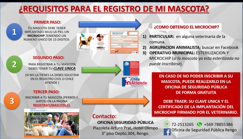 OFICINA DE SEGURIDAD PÚBLICA HA EFECTUADO 1.230 INSCRIPCIONES DE MASCOTA EN LA COMUNA
