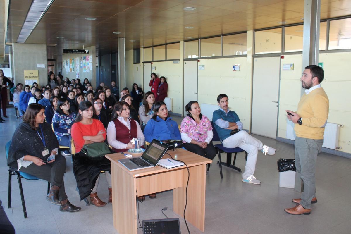 DIRECTOR DEL DEPARTAMENTO DE SALUD MUNICIPAL, EJECUTA JORNADAS DE GESTION Y COMUNICACIÓN CON FUNCIONARIOS CESFAM RENGO Y ROSARIO