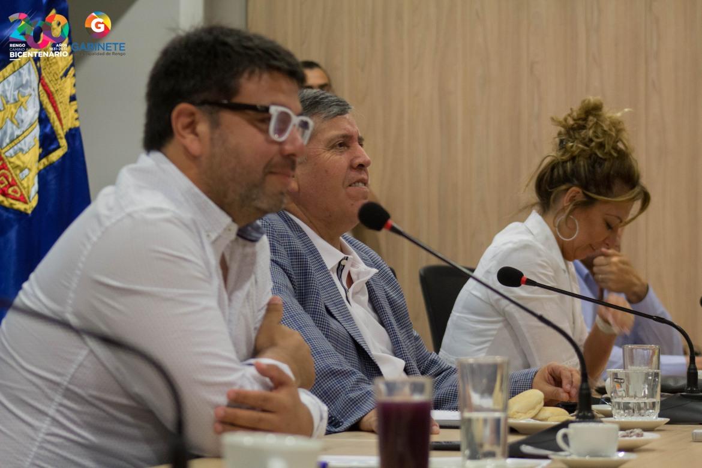 COMISIÓN DE CULTURA DEL CONSEJO REGIONAL SESIONÓ EN RENGO PARA CONOCER PLANIFICACIÓN Y POLÍTICAS COMUNALES DE ESA ÁREA