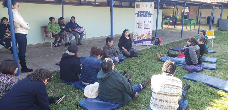 SE REALIZA TALLER CON APODERADOS EN ESCUELA TERESA NARETTO PARA FORTALECIMIENTO PARENTAL