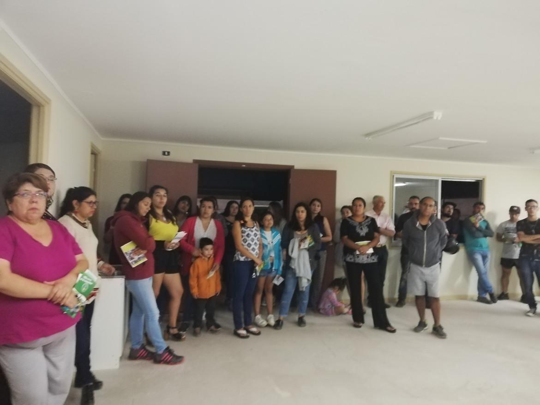 OFICINA DE SEGURIDAD PÚBLICA PARTICIPA EN REUNIÓN JUNTO A CARABINEROS Y VECINOS DE VILLA LOS ÁLAMOS